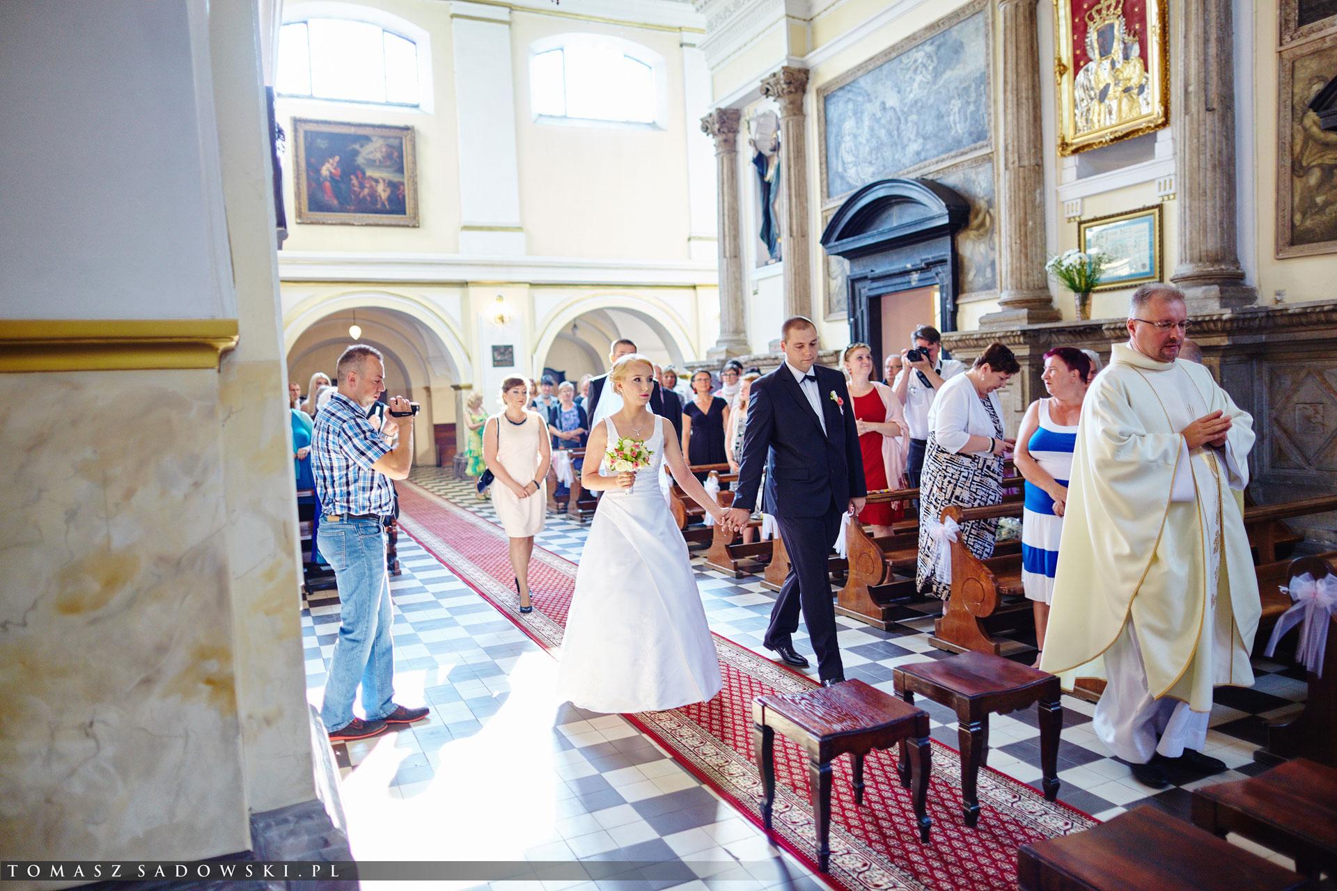 Ślub w Kościele Matki Boskiej Loretańskiej w Warszawie
